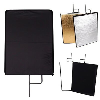 Solid Metal Flag Panel Frame & 4 in 1 Cover Light Control Modifier Reflector