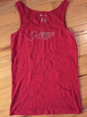Matron Of Honor Red Tank top
