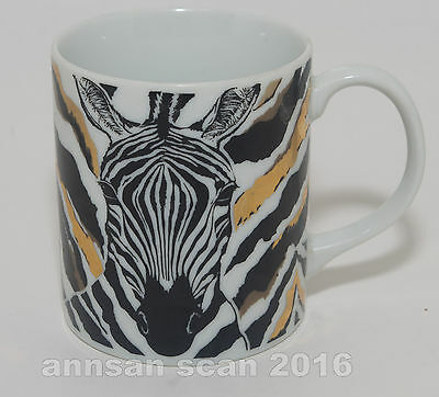 Takahashi San Francisco ZEBRA mug made in Japan (he faces you if right handed)