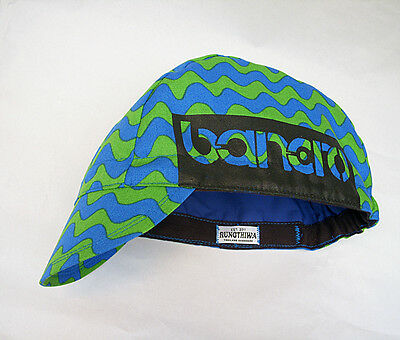 Extra Size L (60.5 - 64.5 cm) Bicycle hat Cycling Cap Handmade Unisex Adults