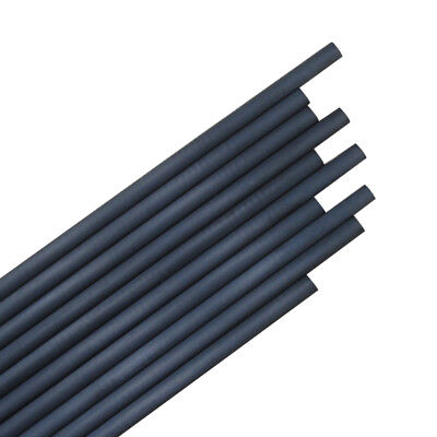 "12X 30"" Arrow Shaft Pure Carbon I.D.6.2mm Archery Hunting Shooting Arrows DIY"