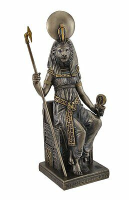 8 Inch Mystical Egyptian Art Design Sekhmet Figurine Statue Sculpture Sekmet