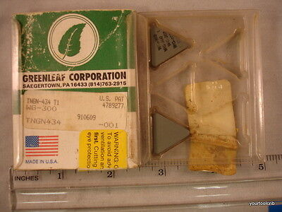 TNGN 434 WG300 GREENLEAF Ceramic  Inserts (5pcs) New&Original