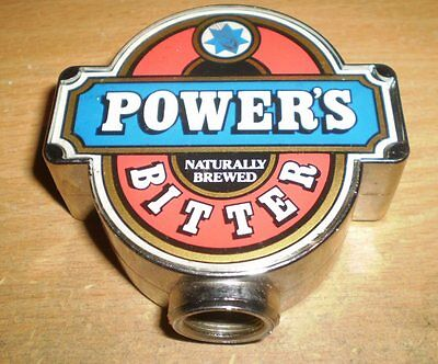 Vintage Australian tap top   -  Powers Bitter     FREE POST