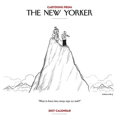 Cartoons from The New Yorker 2017 Square Wall Calendar NEW by Andrews McMeel