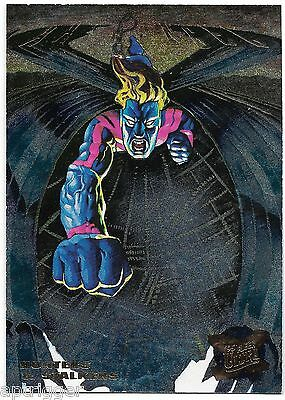 1995 Fleer Ultra X-Men Suspended Hunters & Stalkers (9/10) ARCHANGEL