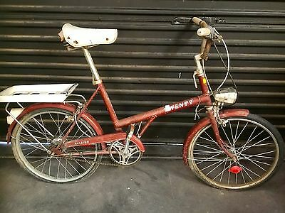 Cool Retro Raleigh Twenty Bike Vintage Old School Suit Restoration Sturmy Archer