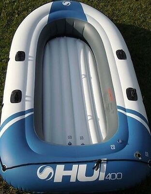 New Sevylor HUI 400 Inflatable 4 Person Boat