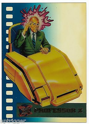 1995 Fleer Ultra X-Men Suspended Animation Limited Edition (8/10) PROFESSOR X