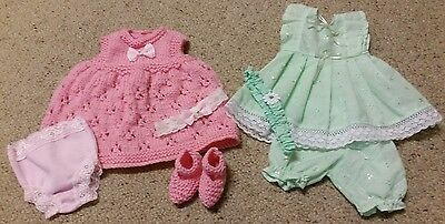 "2 Sets Baby Born Dolls Clothes (16"" - 17"")"