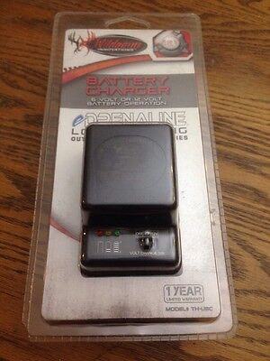 Wildgame Innovations eDRENALINE 6 / 12 Volt Universal Battery Charger TH-UBC New