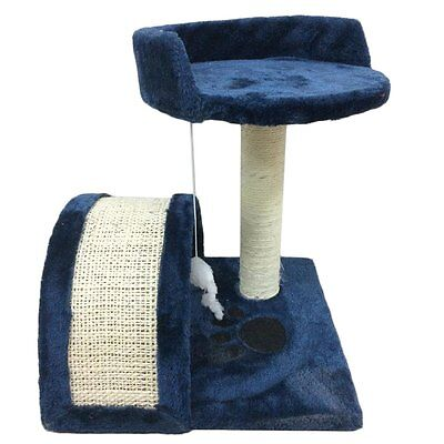 New Cat Tree Activity Centre Scratcher Scratching Post Pet Toys Play 73cm/2.4FT