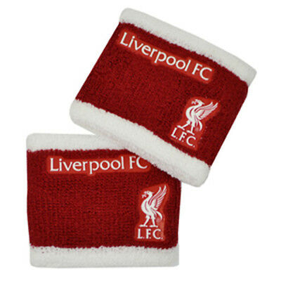 Liverpool Wristbands Sweatbands 2 Pack Gift New Official Licensed Football Club