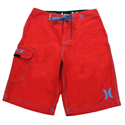 Hurley Men's One And Only Boardshorts Red 29