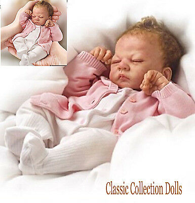 "Ashton Drake ""TINY MIRACLE EMMY"" MINIATURE LIFELIKE BABY DOLL-NEW-IN STOCK NOW!"