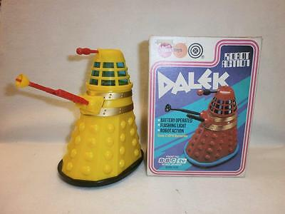 Marx Toys Dalek Battery Operated Boxed With Insert 1974 Rare