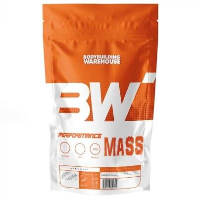 BBW Performance Mass - 2kg - Serious Weight Gainer Whey Protein Powder (STRAW)