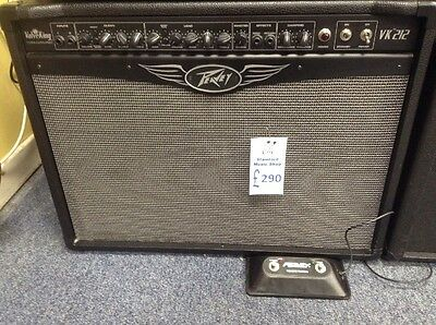 Second Hand Peavey Valve King 212