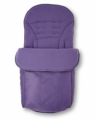 Clair de Lune Universal Pushchair Footmuff - Plum Purple