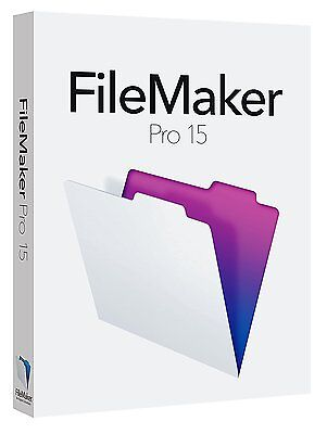 FileMaker Pro 15 - 1 user - RETAIL BOX