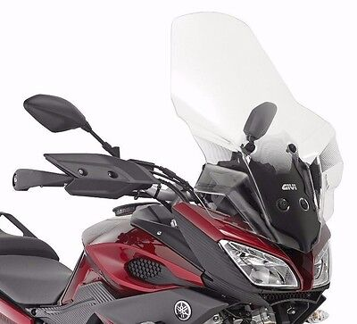 Givi 2122DT WINDSCREEN Yamaha MT-09 TRACER 2016 + D2122KIT clear taller SCREEN
