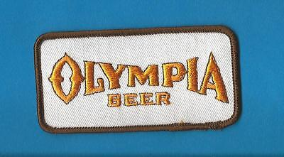 Olympia Oly Beer Sew On Employee Uniform Iron On Jacket Hat Patch Crest B