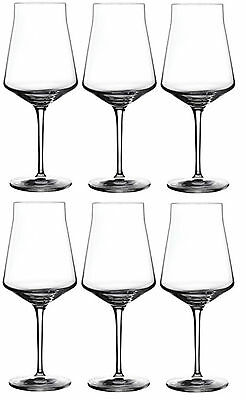 Set of 6 Grangusto Crystal Red Wine Glasses 510ml Lead Free Crystal Wine Glass