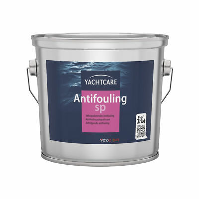 17,60€/l // Antifouling Eco SP selbstpolierend // Yachtcare // 2,5l // rot
