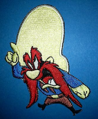 Yosemite Sam Iron On Embroidered Hat Jacket Hoodie Backpack Patch Crest A