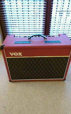Vox AC15 C1 Limited Edition Red