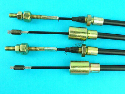 2 x Long Life 1730mm Trailer Brake Cables for Knott - Brian James