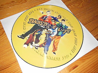Backstreet Boys - Get Down / Ec Picture-Maxi-Lp 12'' Signed (Autogramm) 1996
