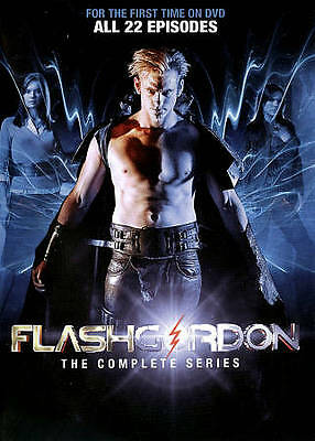 Flash Gordon: The Complete Series (DVD, 2013, 4-Disc Set) New