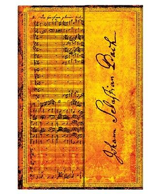 """DIARIO NOTEBOOK """"Bach, Cantata BWV 112"""" PAGINA A RIGHE (10x14cm.) - PAPERBLANKS"""