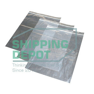 "1-1000 9x12 2MIL Reclosable Resealable Clear Ziplock Plastic Bags 9"" x12"""