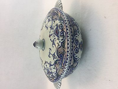 Antique French Glen Pottery Tureen