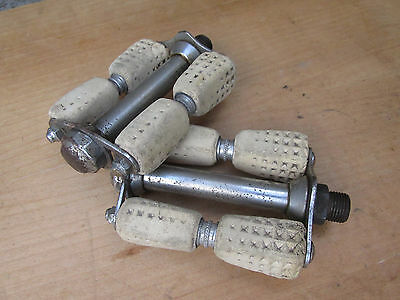 Vintage Pedales Dame Velo Ancien Antique Bicycle Pedals Ladies