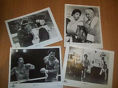 Rocky original press kit stills 8x10 Sylvester Stallone
