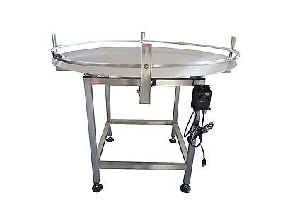 "New Accumulation Rotary Table 36"" Diameter-New- Stainless Steel-Made In The Usa"