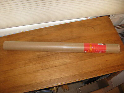 """NIW 125' – 30"""" x 50' 3M BROWN POSTAL WRAPPING PAPER"""