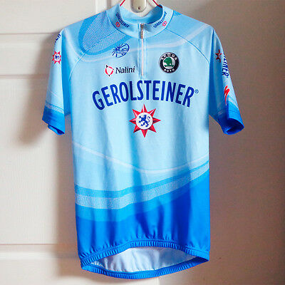 Maillot et cuissard cycliste Gerolsteiner, cycling kit - 2007 - Taille L