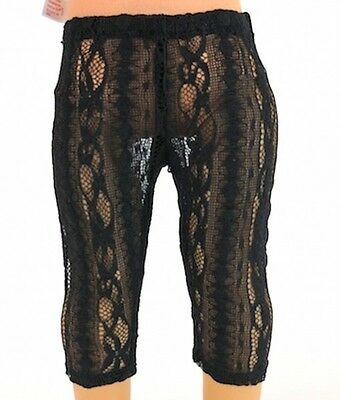 "18"" AFW  Doll  Clothes  Black Lace  Leggings fits  American Girl"