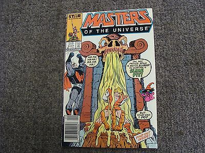 "Masters of the Universe #3 (1986) ""The Garden of Evil!"" * DC Comics *"