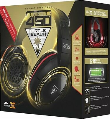 Turtle-Beach-Stealth-450-Wireless-Gaming-Headset-DTS-Headset - DTS Headphone:X 7