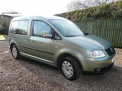 Volkswagen CADDY Life TDI DSG AUTO, Drive from Wheelchair Access Vehicle