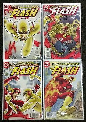 The Flash #197 198 199 200 1St Appearance Of Zoom Complete 197-200 Avg Nmint
