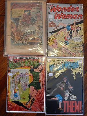 Wonder Woman silver age lot 29 coverless 137 179 key issue classic cover 185 DC