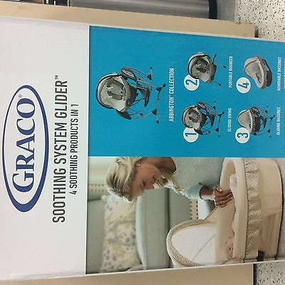 Brand New Graco Soothing System Glider, baby swing bouncer, Abbington collection