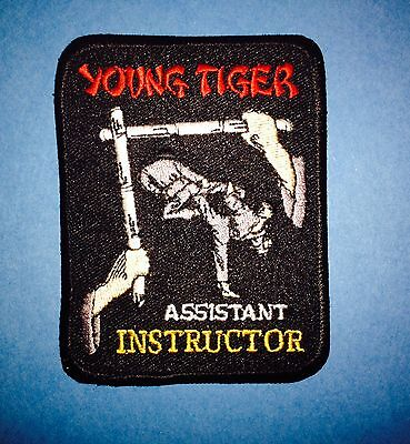 Young Tiger Mixed Martial Arts Assistant Instructor Hat Jacket Gi Patch MMA 278