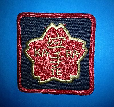 Vintage 1970's Karate MMA Martial Arts Sew On Gi Jacket Patches Crests B